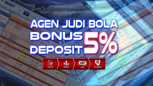 Bonus deposit akun sbobet