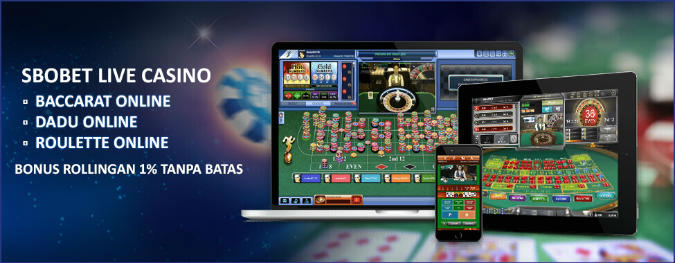 Live casino sbobet dengan taruhan yang besar