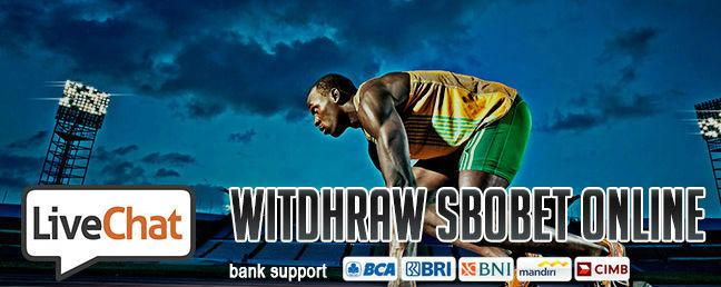 Withdraw sbobet secara online
